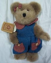 "Boyds MAGGIE D. BERRIWEATHER TEDDY BEAR 10"" Plush STUFFED ANIMAL NEW - $19.80"
