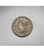 1853 Large Cent AU+ Coin AI107 - $134.42