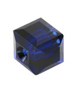 Swarovski Crystal style 5601- 6mm Cube Dark Indigo 15pcs - $10.20