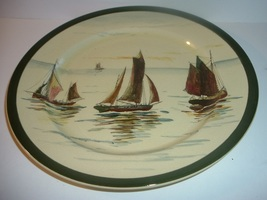 Old Royal Doulton Sailboats plate - $22.99