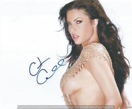 Reprint RP signed autograph autogramm  photo picture  sexy Christa Campb... - $3.18