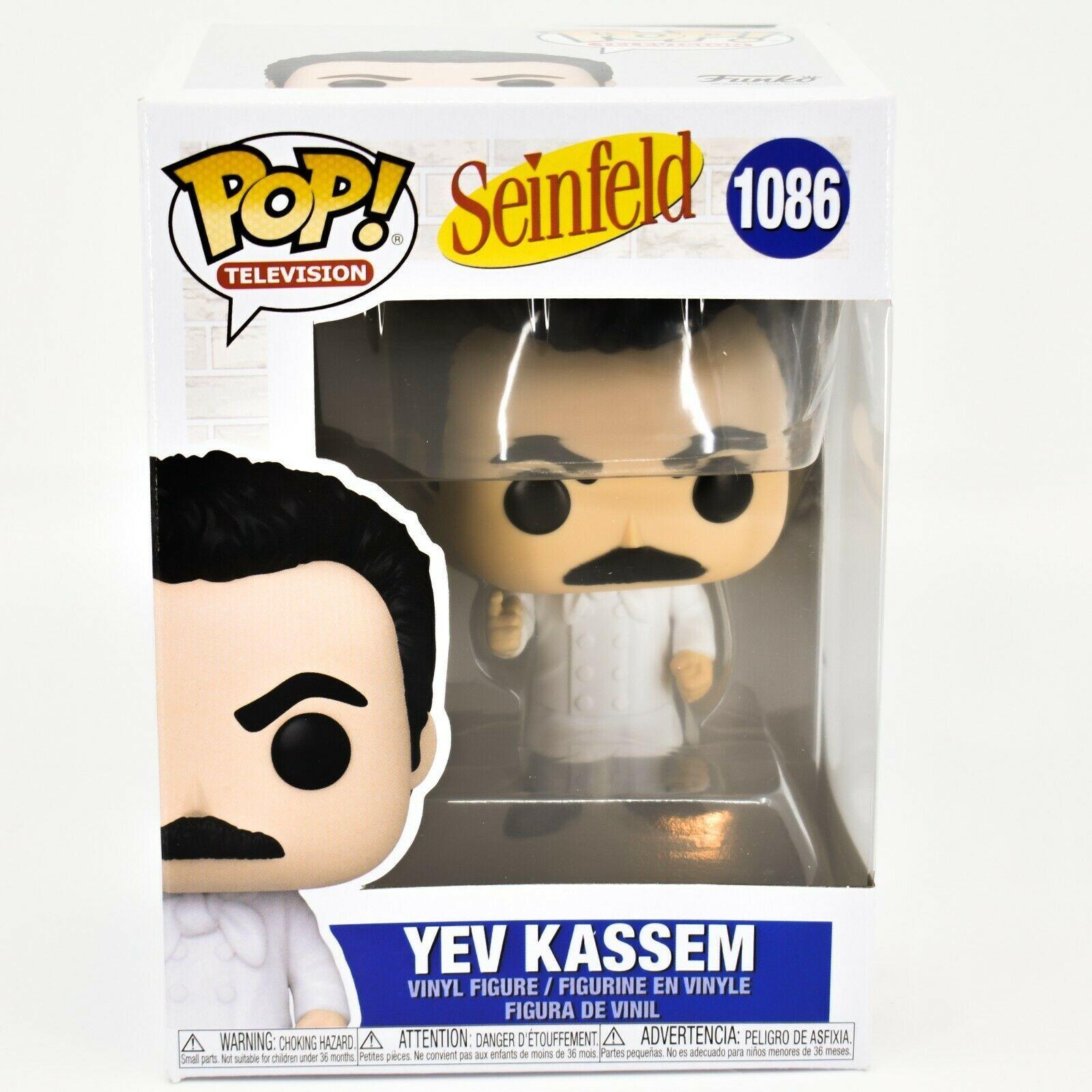 Funko Pop! Television Seinfeld Yev Kassem Soup Chef #1086 Vinyl Action Figure