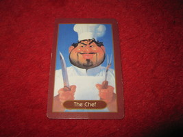 1993 - 13 Dead End Drive Board Game Piece: The Chef Portrait Card - $1.00