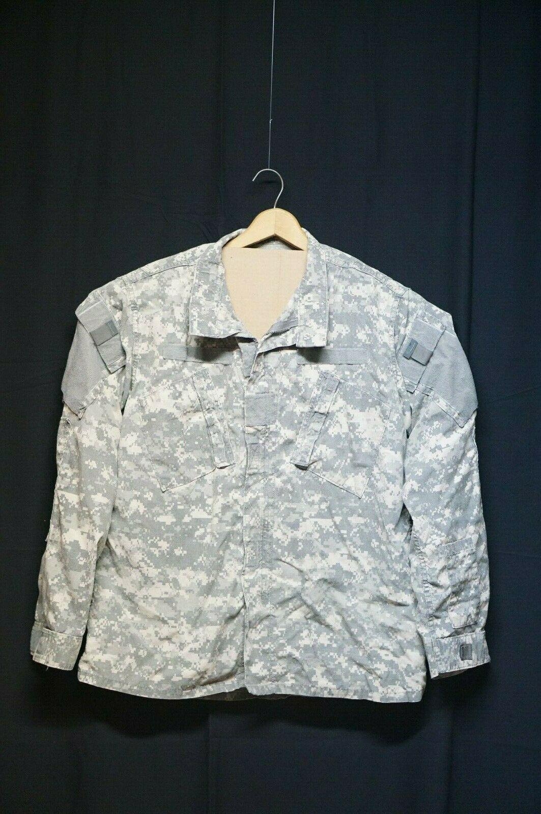 Small Regular USGI ACU UCP Digital Army Uniform Field Combat Shirt Jacket