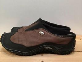 Merrell Women's Leather Slip-On Shoes Air Cushion Vibram Soles Brown Siz... - $20.33