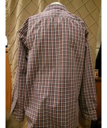 Egara long sleeve 100% cotton non iron office dress shirt men's size XXL - $19.79