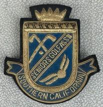 Southern California Seniors Golf Association Embroidered Emblem Jacket P... - $69.95