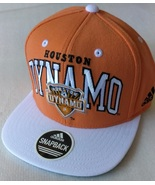 Adidas MLS Houston Dynamo Orange Soccer Hat Cap Snap Back Flat Brim One... - $20.00