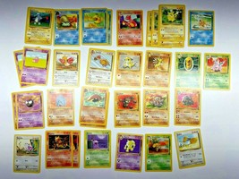 Lot of 55+ 1999 Pokemon Cards WOTC Wizard Various Conditions - Cards as Pictured - $23.99