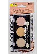 L.A. Colors Highlighter Palette, Candlelight - $5.95