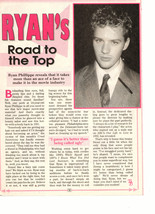 Ryan Phillippe  teen magazine pinup clipping road to the top Big Bopper Bop