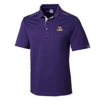 NWT Cutter & Buck LSU TIGERS NCAA  DryTec Polo Shirt M FOSS Hybrid - $41.00