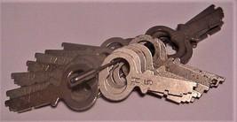 lot of 18 Vintage National Cash Register Keys H5 - $49.99