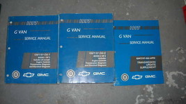 1997 Chevy Express Gmc Savana G Van Service Repair Shop Manual Set 3 Volume Oem - $44.50