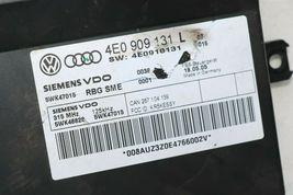 Audi A8 Kessy Keyless Entry Lock Control Module 4e0909131 Oem 5wk47015 image 3