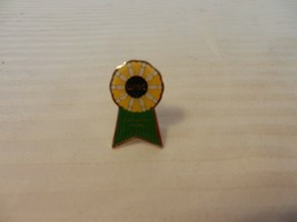 WIBC Achievement Award Pin Back Bowling Award Yellow with Green - $11.88