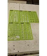 5 MATT WAX TEMPLATE VARIETY DESIGNS JEWELRY CASTING SHAPING TOOL STENCILS - $48.51