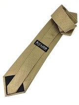 "NEW ZYLOS George Machado Silk Men's Neck Tie Tan 58"" - $13.95"
