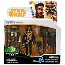 Star Wars Force Link 2.0 Lando Calrissian & Kessel Guard 2-Pack 3.75 - New - $12.73