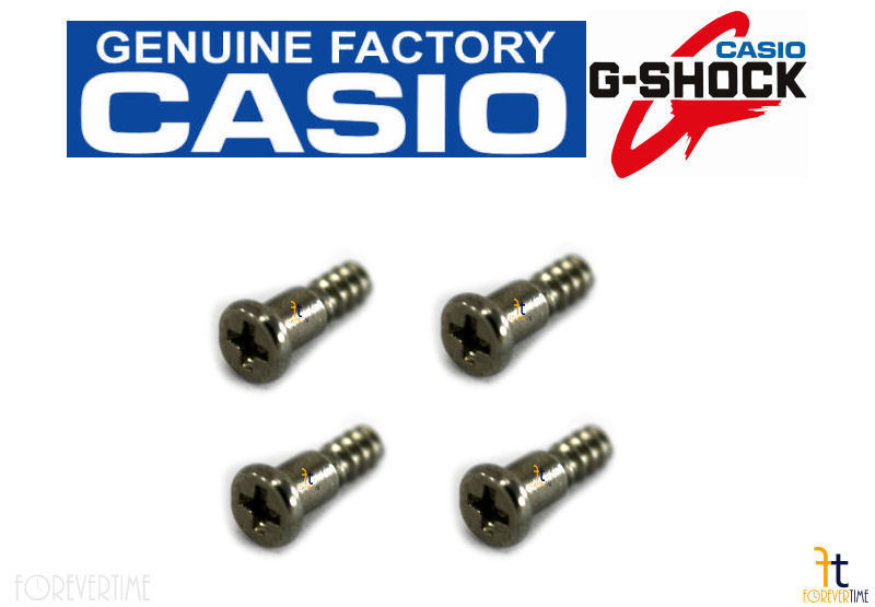 Primary image for CASIO G-Shock AW-590 Watch Bezel Stainless Screw (1H/5H/7H/11H) (QTY 4) AW-591