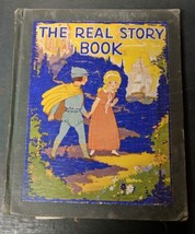 The Real Story Book 1927 Rand McNally Fairy Tales, damaged, for crafts? - $9.00