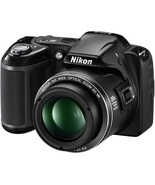 Nikon COOLPIX L810 16.1 MP Digital Camera with 26x Zoom NIKKOR ED Glass ... - $1,284.85