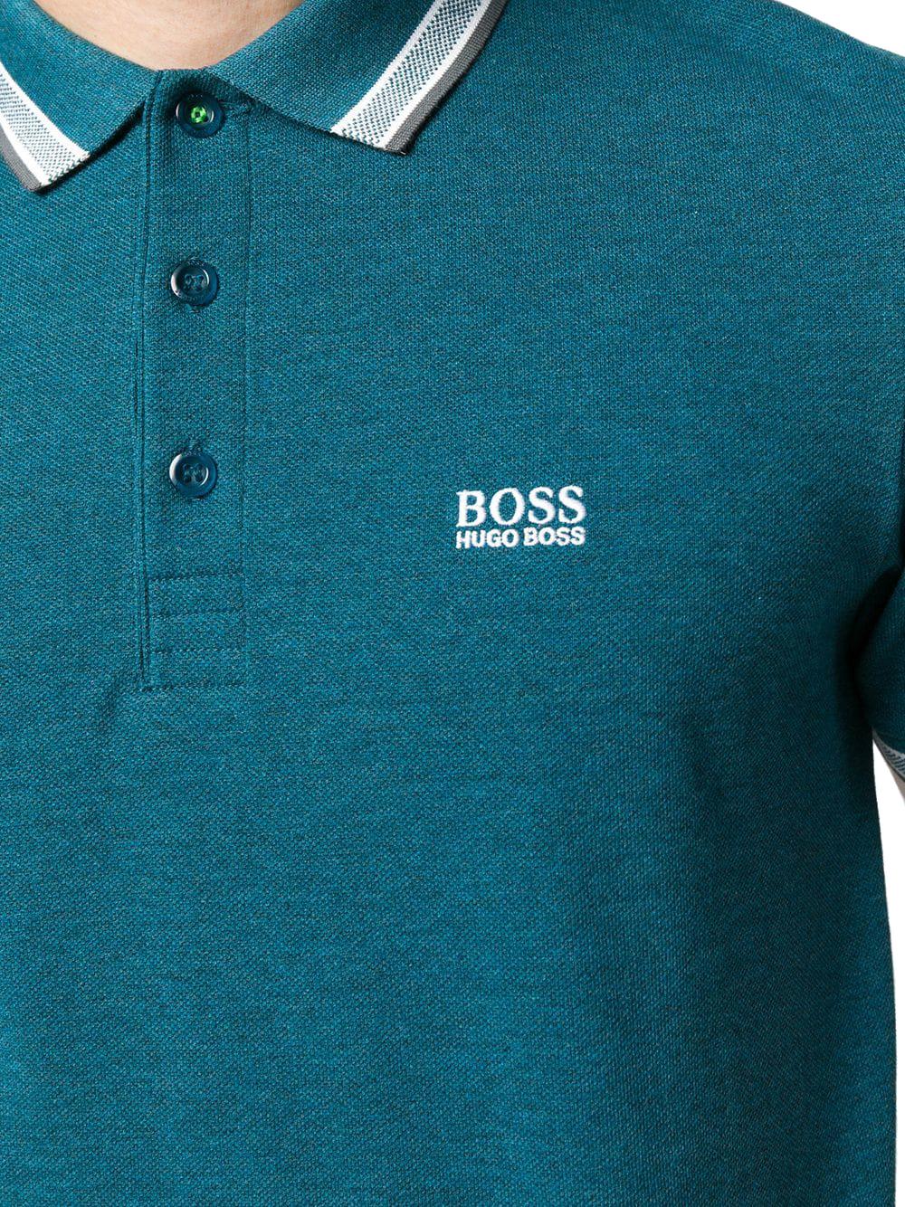 Hugo Boss Men's Premium Cotton Green Tag Sport Polo Shirt T-Shirt Paddy image 8