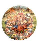 c1997 Country Companions Collector Plate - Off for a Picnic - $38.21