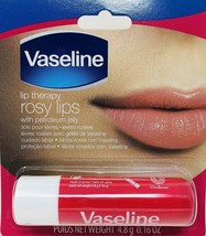6 Vaseline Lip Therapy Rosy Lips | Lip Balm with Petroleum Jelly for Providing - $10.49