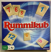 Original Rummikub Pressman Game Complete All 106 Tiles Holders Instructi... - $29.69
