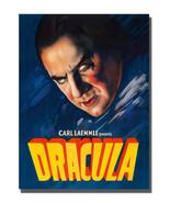 1950's Horror Movie Dracula Monster Poster Design 16x20 Aluminum Wall Art - $59.35