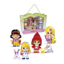 Pin And Pon Storybook Classics Pack Of 4 Figures Of Tales Pinypon And Th... - $187.31