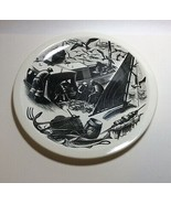 Wedgwood New England Industries Codfishing Plate by Clare Leighton - $79.18