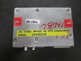 14 Chevy Malibu On Star Communication Module #13505318 - $47.03