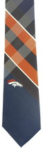 Denver Broncos Mens Necktie NFL Football Team Logo Blue Neck Tie Sports ... - $32.95