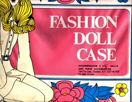 Fashion Doll Case  - $14.90