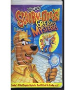 1999 Scooby-Doo's Greatest Mysteries VHS Clamshell Edition  - $13.99