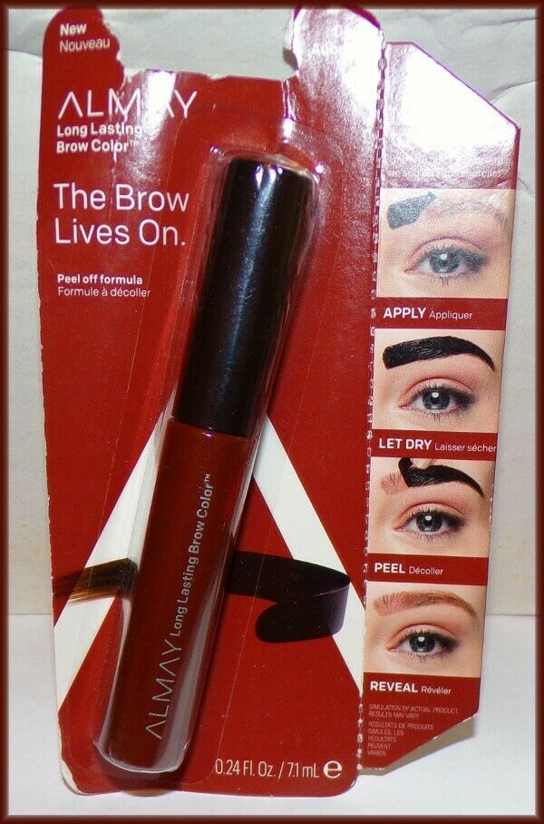 "Primary image for NEW & SEALED ALMAY ""THE BROW LIVES ON"" LONG LASTING BROW COLOR  #040 AUBURN"