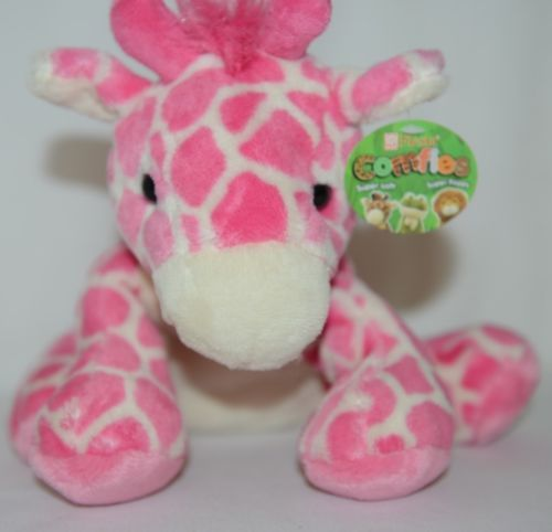 Comfies A53920 Pink White Medium Giraffe Plush Girl 3 Plus