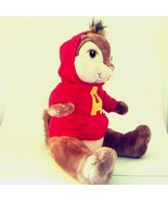 Build a Bear Stuffed Plush Alvin the Chipmunk Red Hoodie The Squeakquel ... - $24.14