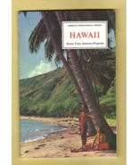 Book -- HAWAII (American Geographical Society KNOW YOUR AMERICA Edition,... - $3.95
