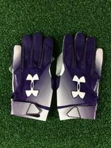 Team Issued Baltimore Ravens Under Armour Spotlight Small Football Gloves - $17.99