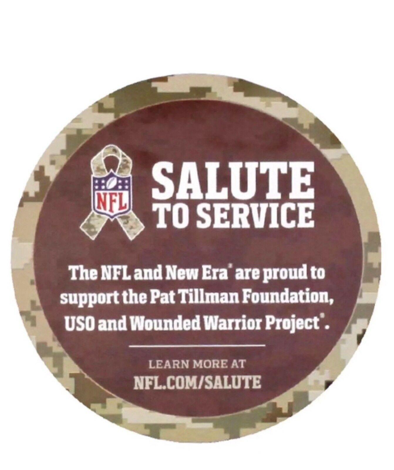 Tampa Bay Buccaneers New Era 39Thirty NFL Salute To Service S/M Flexfit Cap Hat