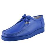 LibertyZeno Men's Genuine Leather Low Top Moc Toe Desert Chukka Casual B... - $79.99