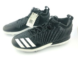 ADIDAS BOOST Men's Shoes Icon 3 Metal Baseball Cleats Knit DB1793 Sz 10 - $31.47