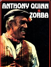 Anthony Quinn is ZORBA (Play Book) - $7.00