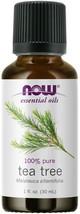 NOW FOODS 100% Pure Tea Tree Oil 1 oz (30 ml) Melaleuca alternifolia, 100% Pure - $17.81