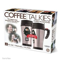 "Prank Pack ""Coffee Talkies"" - Wrap Your Real Gift in a Prank Funny Gag Joke Gift"