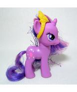 My Little Pony G4 TWILIGHT SPARKLE FiM Royal Ball, Tinsel Hair MLP - $13.00