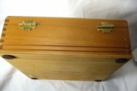 Vintage Lehigh Vailley RR Wood Cigar Box  & Band image 5